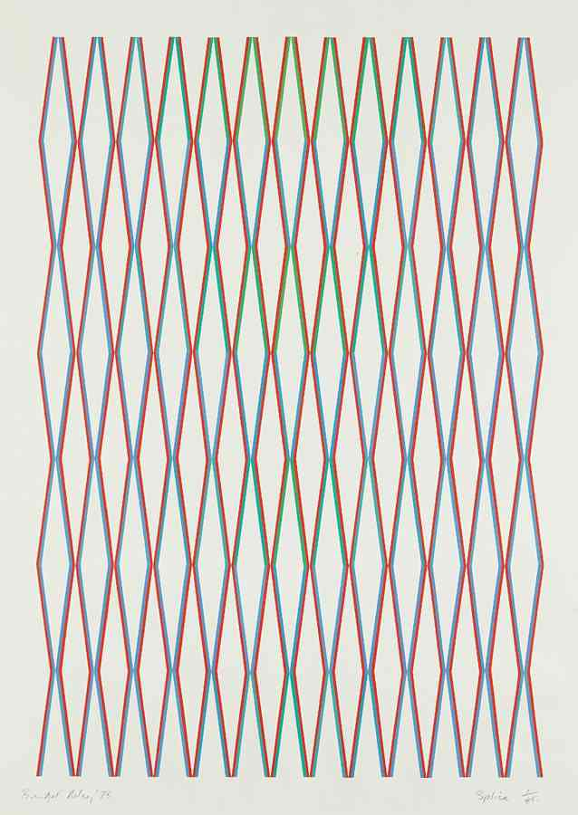 Bridget Riley-Splice-1975