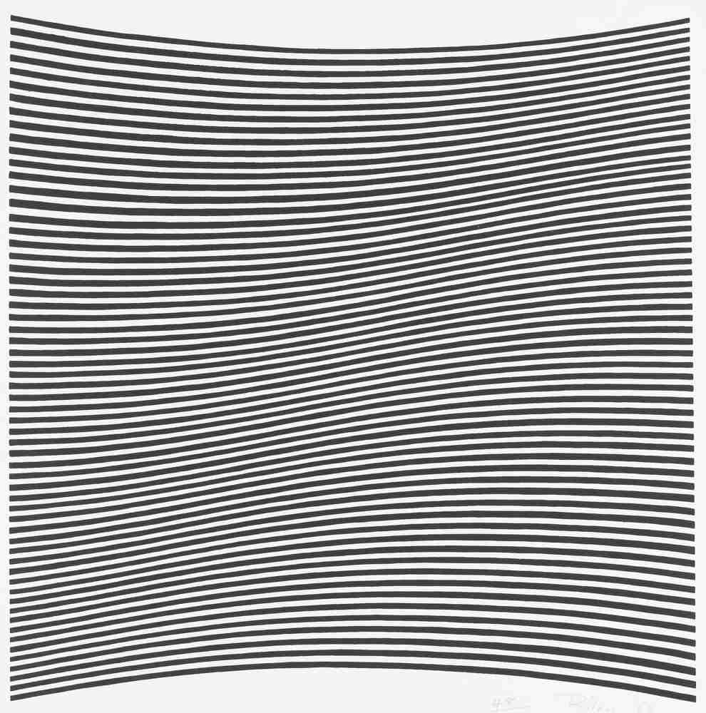 Bridget Riley-Untitled (La Lune En Rodage - Carlo Belloli)-1965