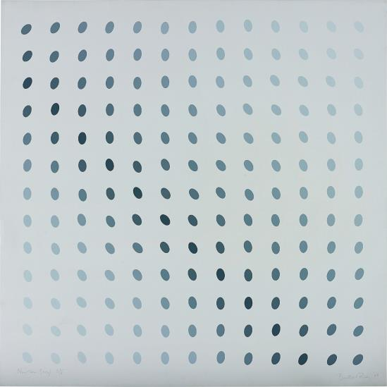 Bridget Riley-Untitled (Nineteen Greys B)-1968