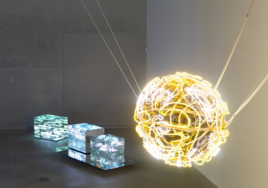 The artist famous exhibitions include 2010 Mumok exhibition 2011 Neon galerie exhibition and 2008 exhibitions in New York