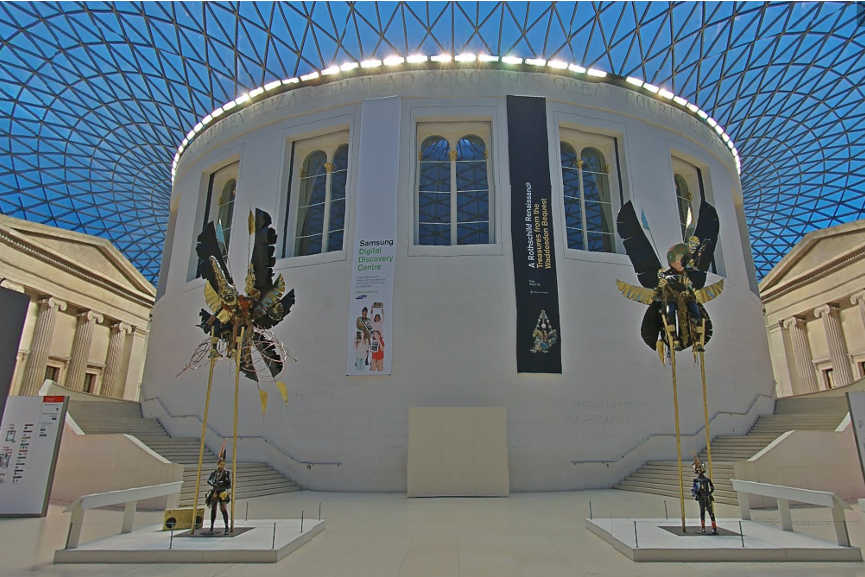 British Museum Google Street View
