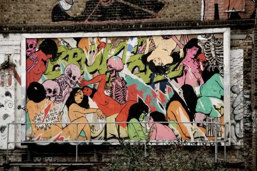 Broken Fingaz is a street art colelctive from tel aviv israel