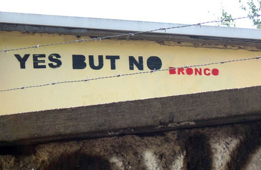 Bronco - Yes But No