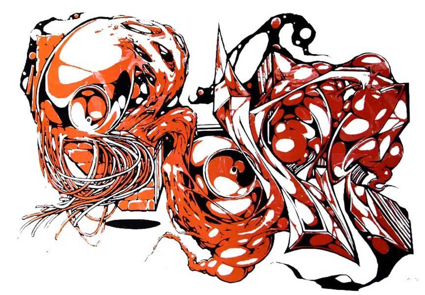 Rabbit eye movement Art Space