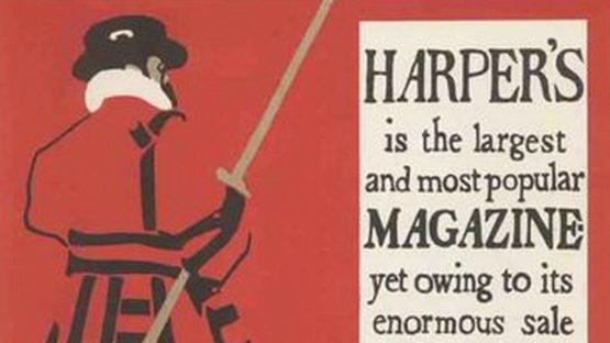 Brothers Beggarstaff - Harpers Magazine