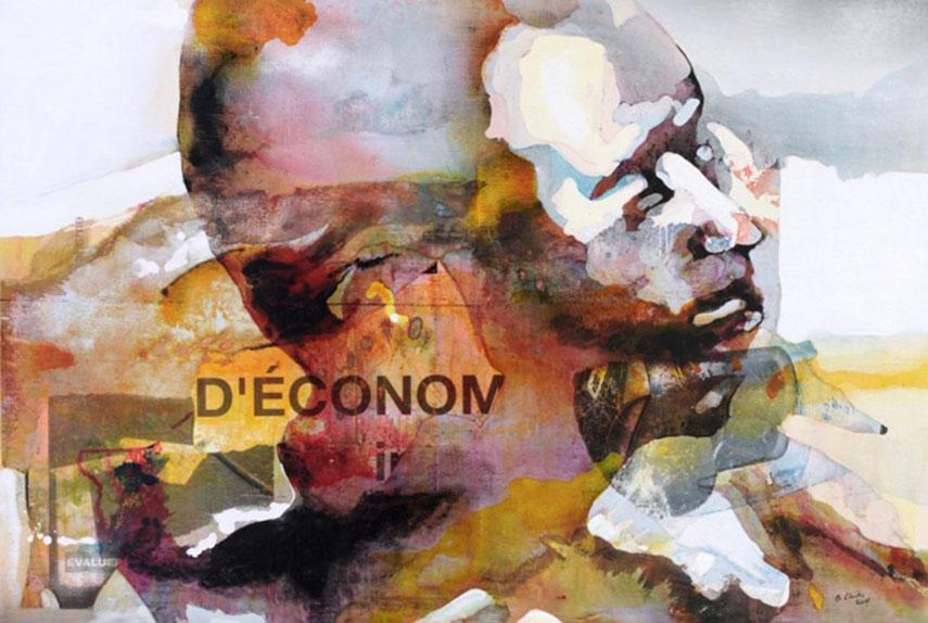 Bruce Clarke - D'économie (Of economy), 2014