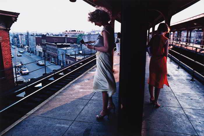 Bruce Davidson-Untitled, Subway, New York-1980