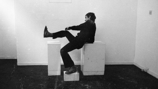 Bruce McLean - Pose Work for Plinths, 1970 - Photograph Courtesy the artist