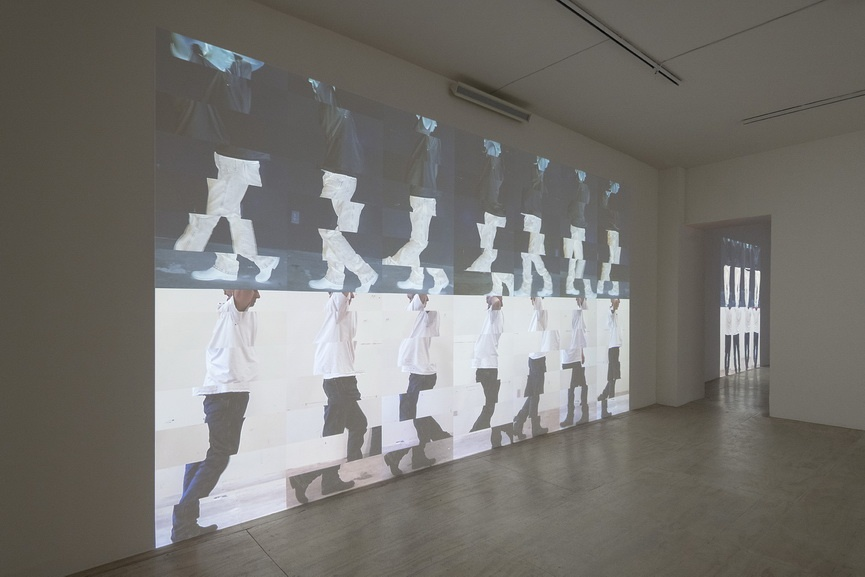 Bruce Nauman- Disappearing Acts Installation view