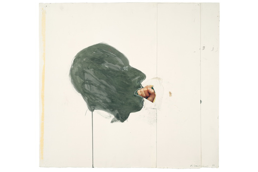 Bruce Nauman - Fist in Mouth