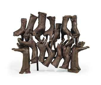 Bruce Nauman-Untitled (Hand Group)-1997