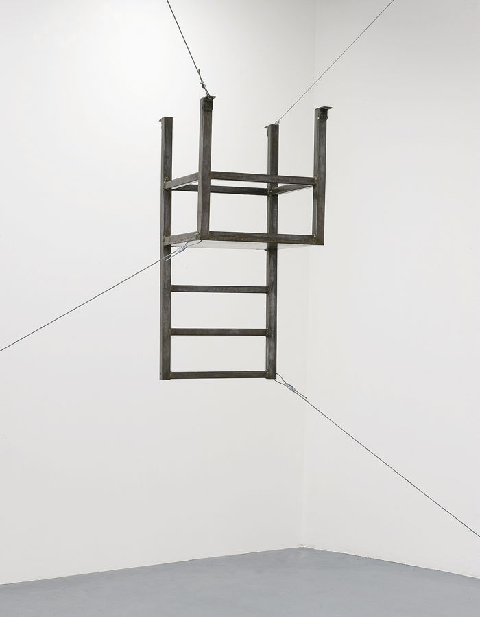 Bruce Nauman-Untitled (Suspended Chair, Vertical)-1987