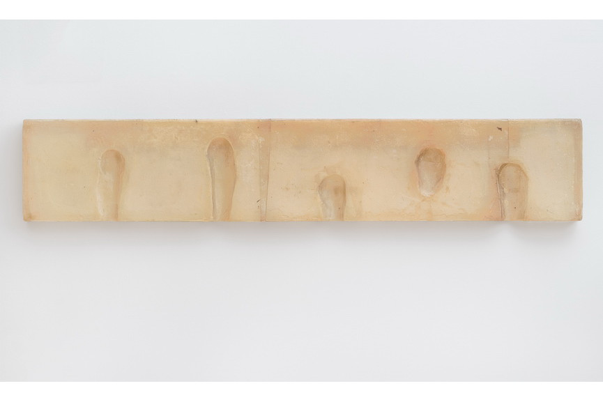 Bruce Nauman - Wax Impressions of the Knees of Five Famous Artists