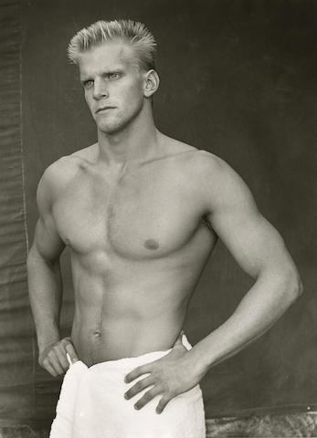 Bruce Weber-Steve Lundquist (Swimmer), Colorado Sports Festival-1983