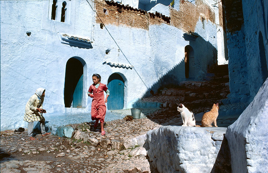 Chefchaouen, Morocco, 1972