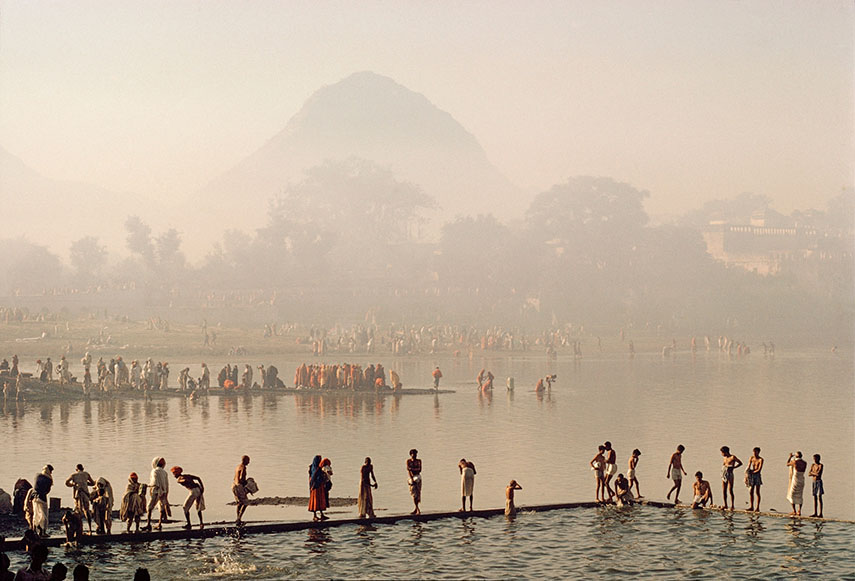 Pushkar pilgrimage, Rajasthan, India, 1975