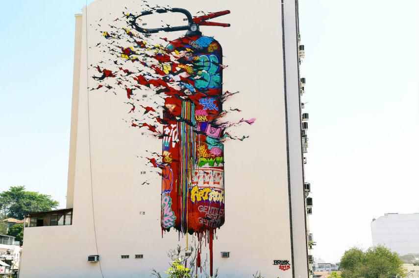 Brusk - Untitled,  Rio De Janeiro, 2015