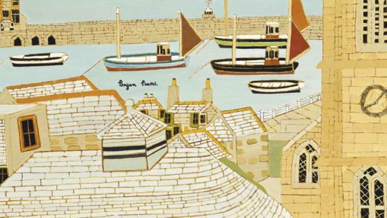 Bryan Pearce - St Ives, from the Studio (detail)