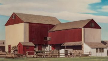Charles Sheeler - Bucks County Barn, 1940