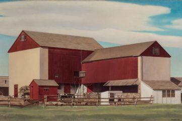 Charles Sheeler -Bucks County Barn, 1940