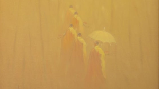 Bui Van Hoan - Walking, 2006 (detail)