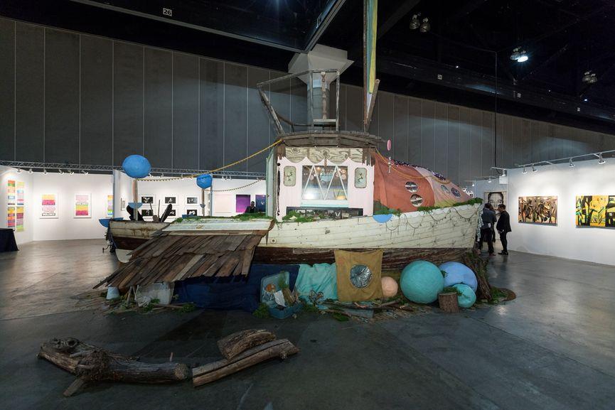 Bunnie Reiss Ghost Ship LA Art Show 2018