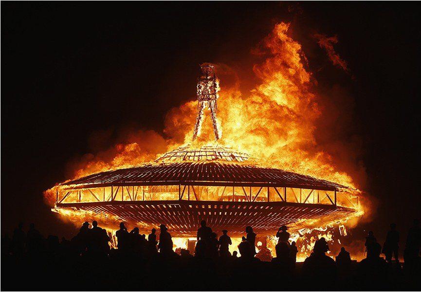 Burning Man 2015 - Photo Credits Jim Urquhart