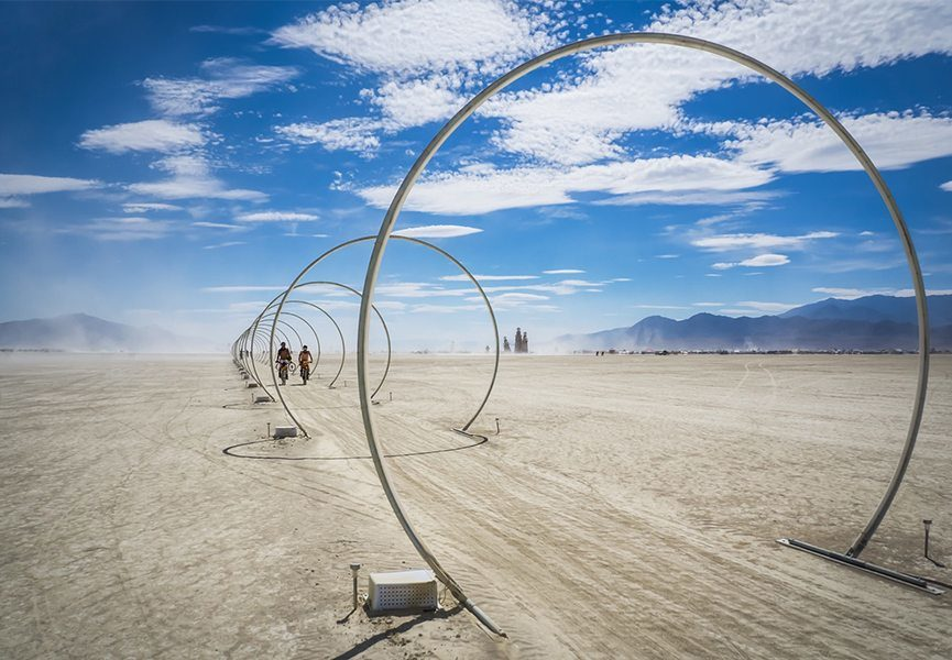 Burning Man 2016 - image via sfcurbedcom