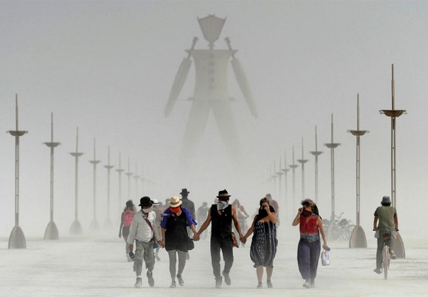 Burning Man Gallery - image via americaaljazeeracom