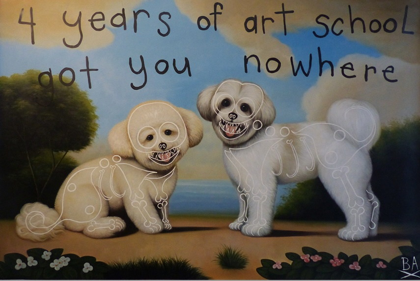 Butch Anthony - Four Years of Art School Got you Nowhere