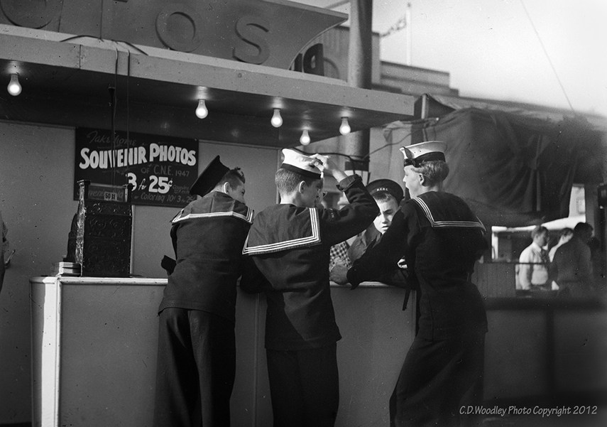 C.D. Woodley - Sea Cadets at the CNE, 1947