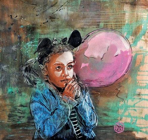 C215-Petite Fille au Ballon-2012