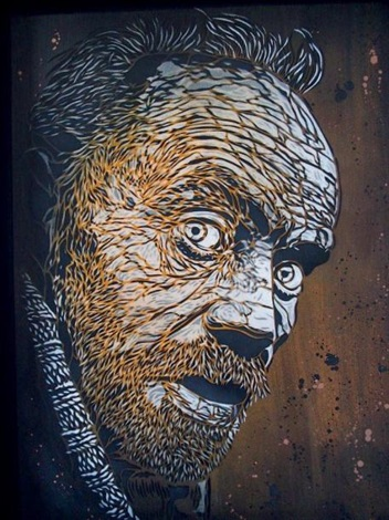 C215-Sans Titre (Portrait de Homeless)-2009