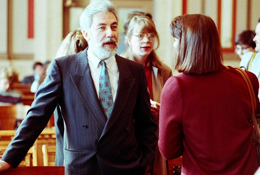mapplethorpe obscenity trial cincinnati arts barrie center 1990 dennis jury pictures said cincinnati jury