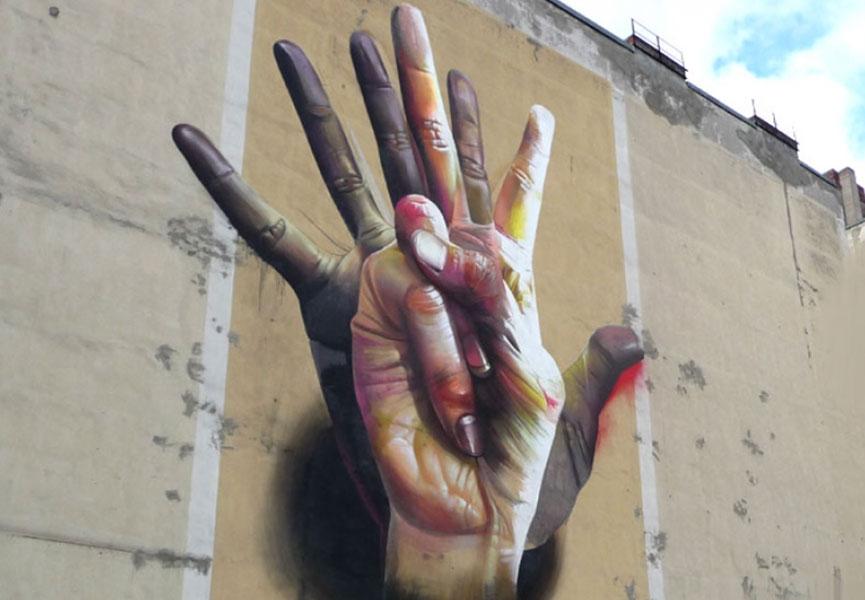Mural in Berlin