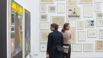 CHART 2018, september fair at kunsthal charlottenborg in copenhagen, denmark