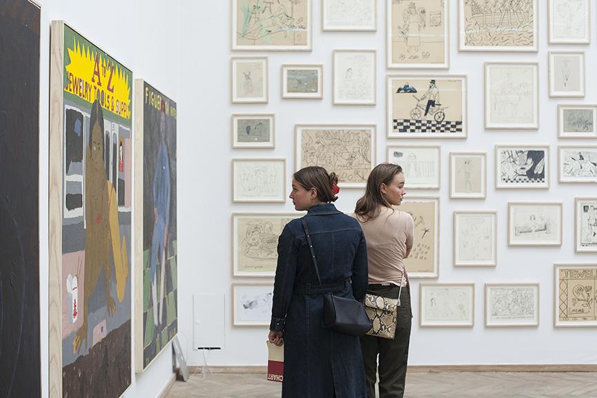 CHART 2018, september fair at kunsthal charlottenborg in copenhagen, denmark