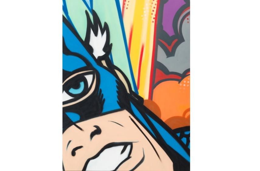 CRASH graffiti Galerie Brugier-Rigail