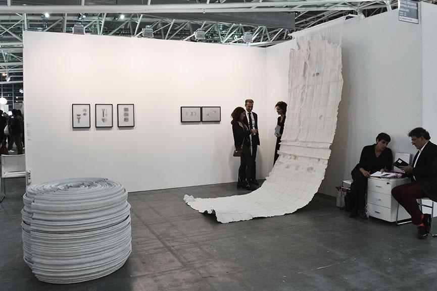 Nazgol Ansarinia with Raffaella Cortese Milano + Green Art Dubai
