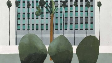 David Hockney - California Bank (detail), 1964