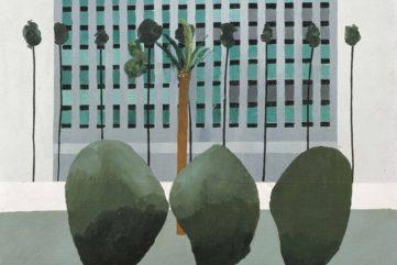 David Hockney - California Bank (detail), 1964