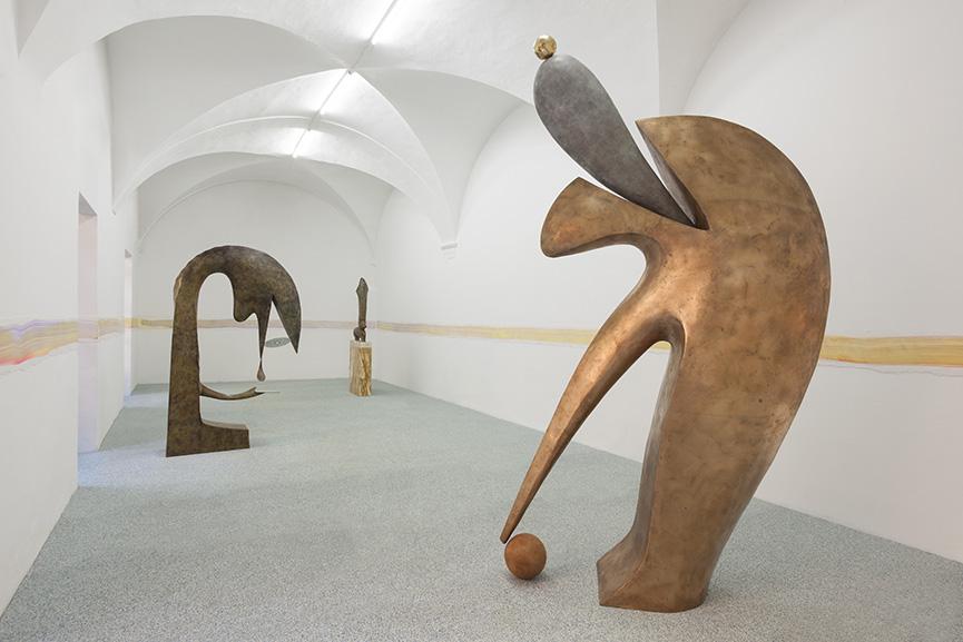 Camille Henrot, exhibition view Monday, Fondazione Memmo, Rome, 2016