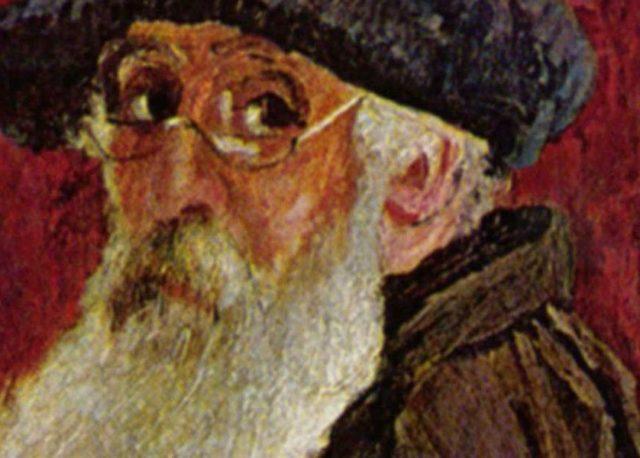 Camille Pissarro - Autoportrait (detail), photo credits - Wikimedia
