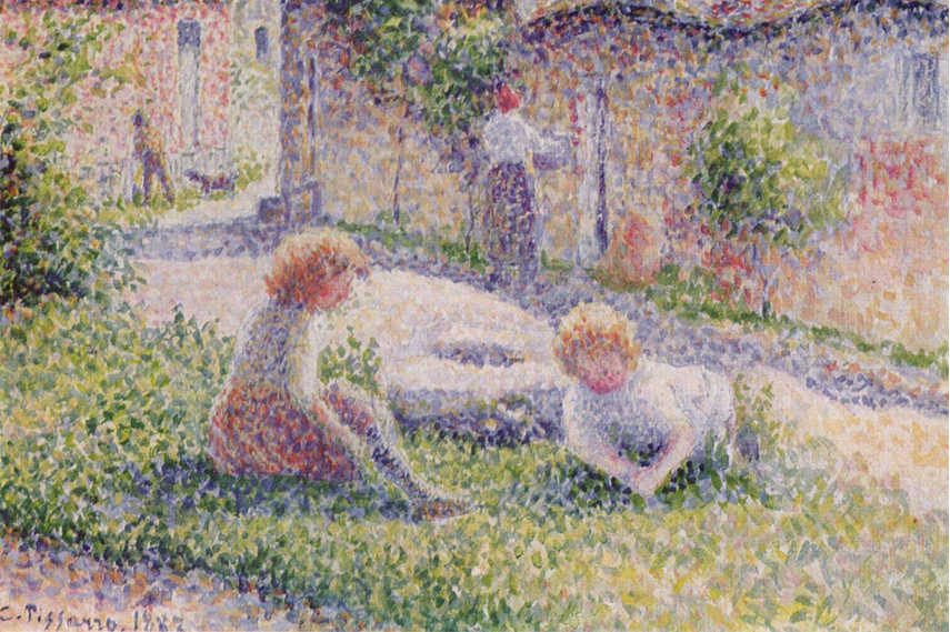 Pointillism The Dotted Art Of Early Modernity Widewalls