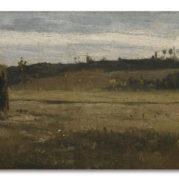 Camille Pissarro - Paysage Dans Un Champ, La Varenne, Saint-Hilaire, circa 1865 (Detail)