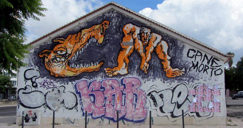 Canemorto - A Series of Murals in Lisboa #41, photos by Tanguy Bombonera - city - new graffiti