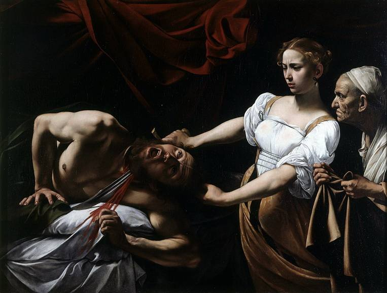 Judith and maidservant with the head of holofernes why did she do it