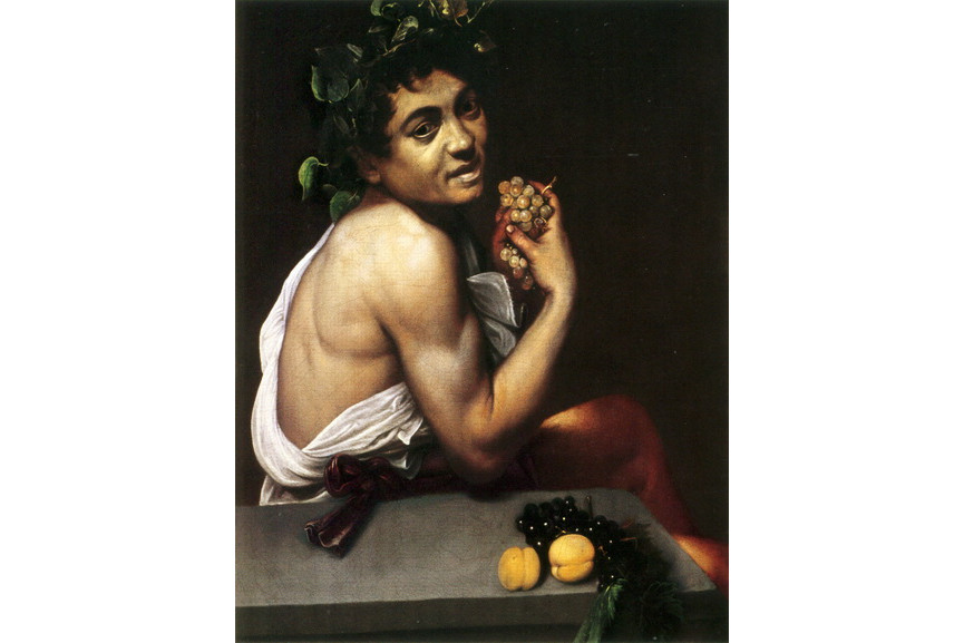Caravaggio life and work were intertwined in his paintings like in this work Self-portrait as the Sick Bacchus
