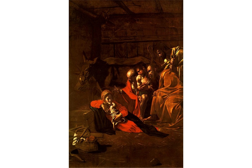 On of the best Christmas painting in the world depicts Christ at his home