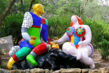 Getting Mesmerized by Niki de Saint Phalle's The Tarot Garden